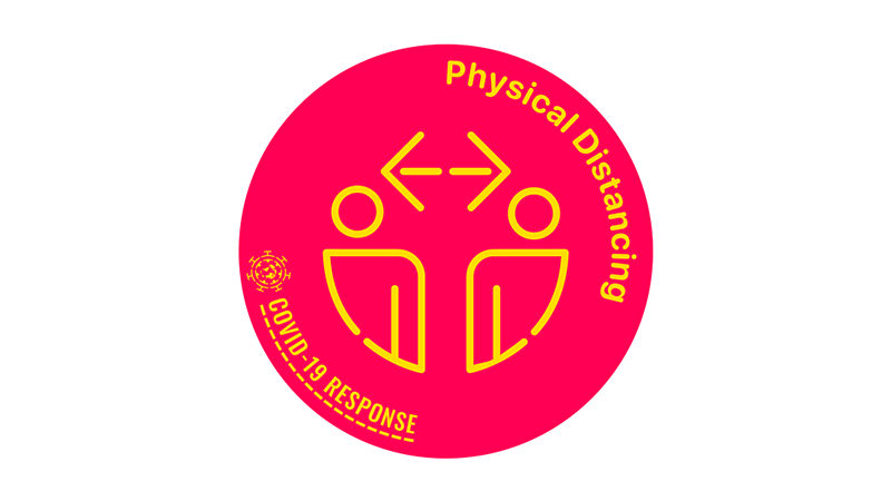 Physical Distancing logo