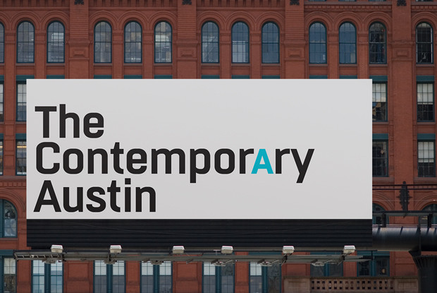 Check out the redesign for The Contemporary Austin, a new name and look for the AMOA-Arthouse, Austin's contemporary art museum. The new identity was developed by Pentagram's DJ Stout.