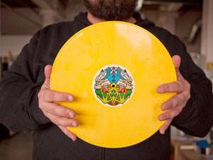All Tiny Creatures record label design by Aaron Draplin.