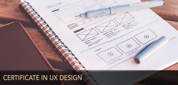 Certificate in UX Design.