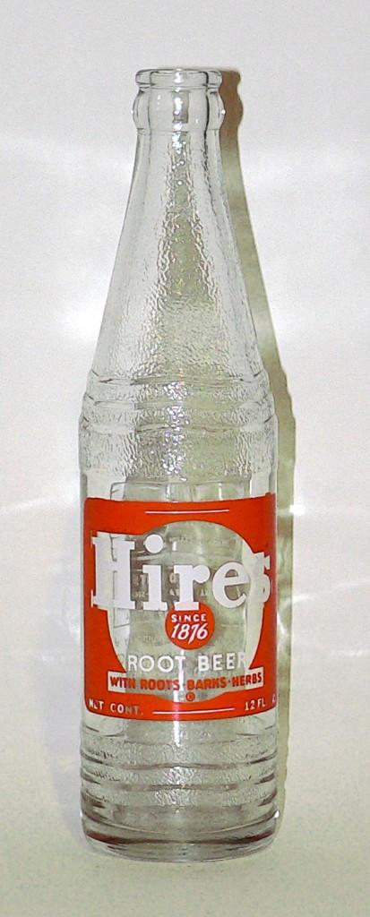 1940s Hires Root Beer bottle