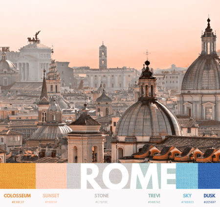 Rome color themes
