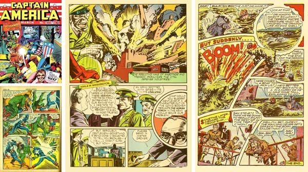 Captain America x 4: 1941 - 1944.