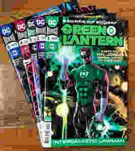 Green Lantern comics return!