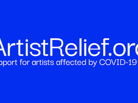 Artist Relief Offers $10 Million in Grants