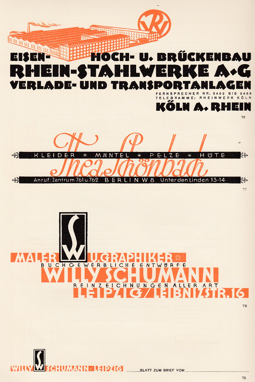 Rhein Stahlweke
