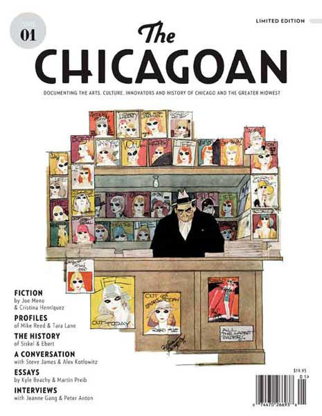 iotd_chicagoanThe Chicagoan magazine: Undrcrt Inc. (the design work of Todd Urban) set out to create first issue, every detail is considered.