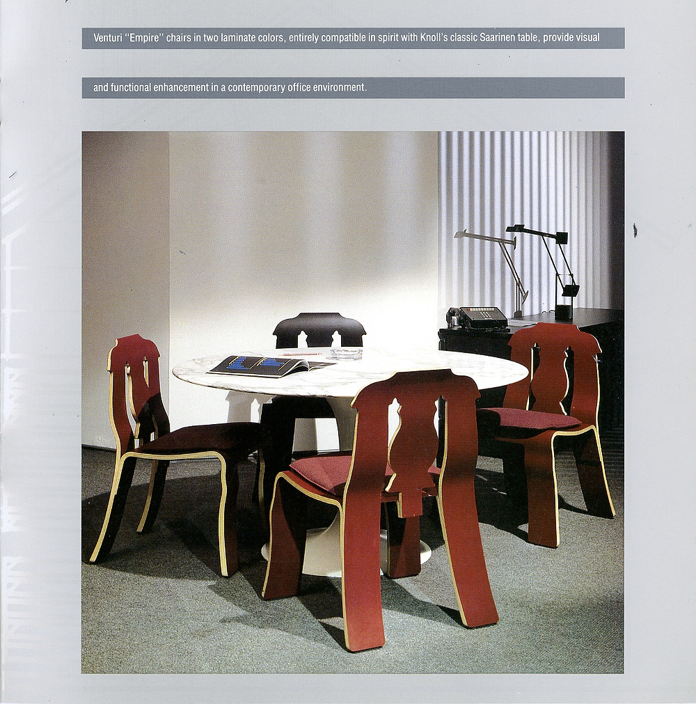 An '80s Retrospect: Venturi Chairs