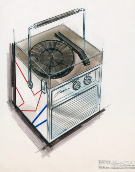 Design for a portable phonograph