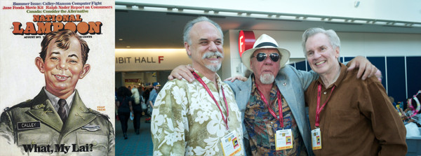 With 130,000-plus visitors, chance encounters like this one with Michael Gross are frequent.