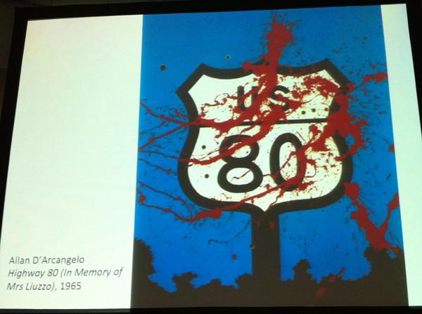 Allan D'Arcangelo Highway 80 (In memory of Mrs Liuzzo), 1965