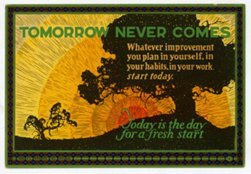 1910s motivation