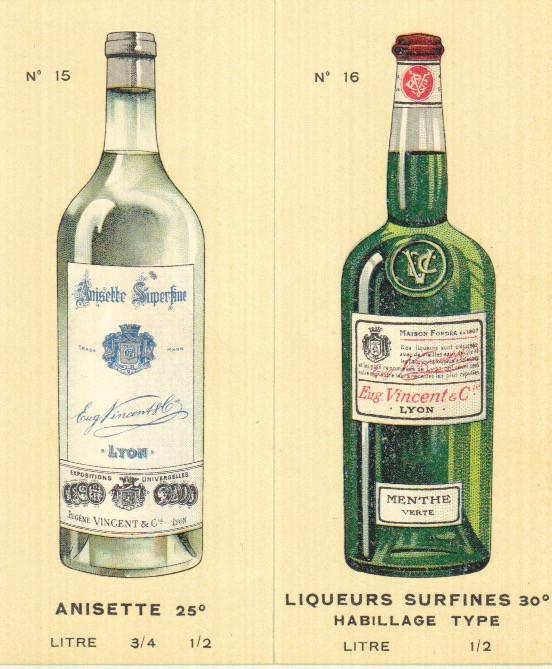 bottle design anisette