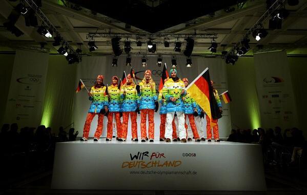 German Olympic uniforms 2