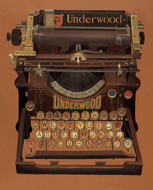 Underwood Typewriter Patented August 3, 1893