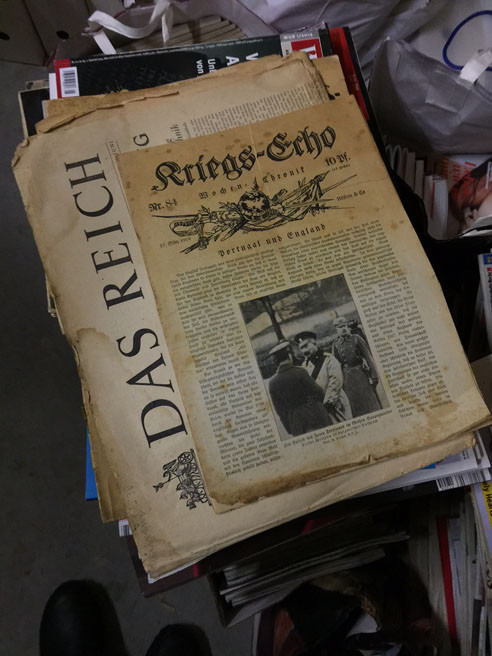 German editorial designer Horst Moser archive