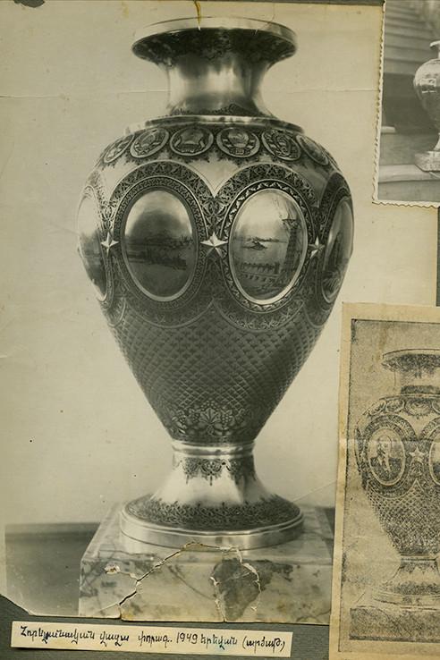 Silver vase-2