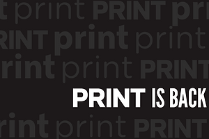 Print is Not Dead: Printmag.com is Back!