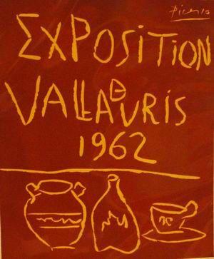 Vallauris Exhibition, 1962