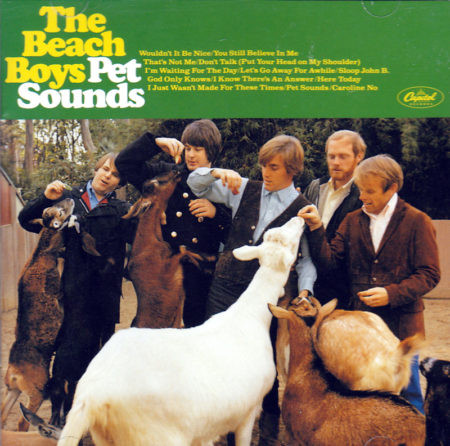 album art beach boys Pet Sounds