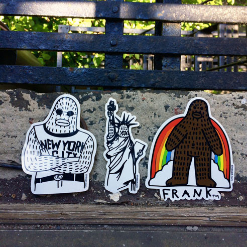 rockin stickers