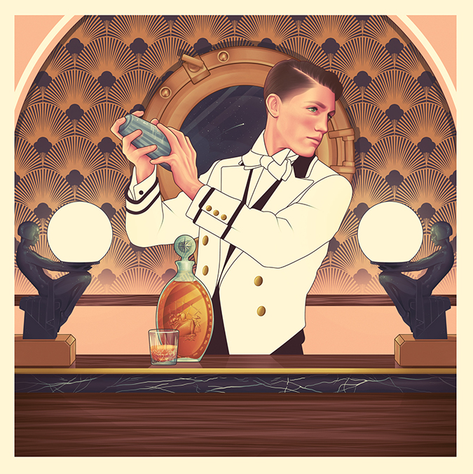 Illustration for The Macallan by Jack Hughes