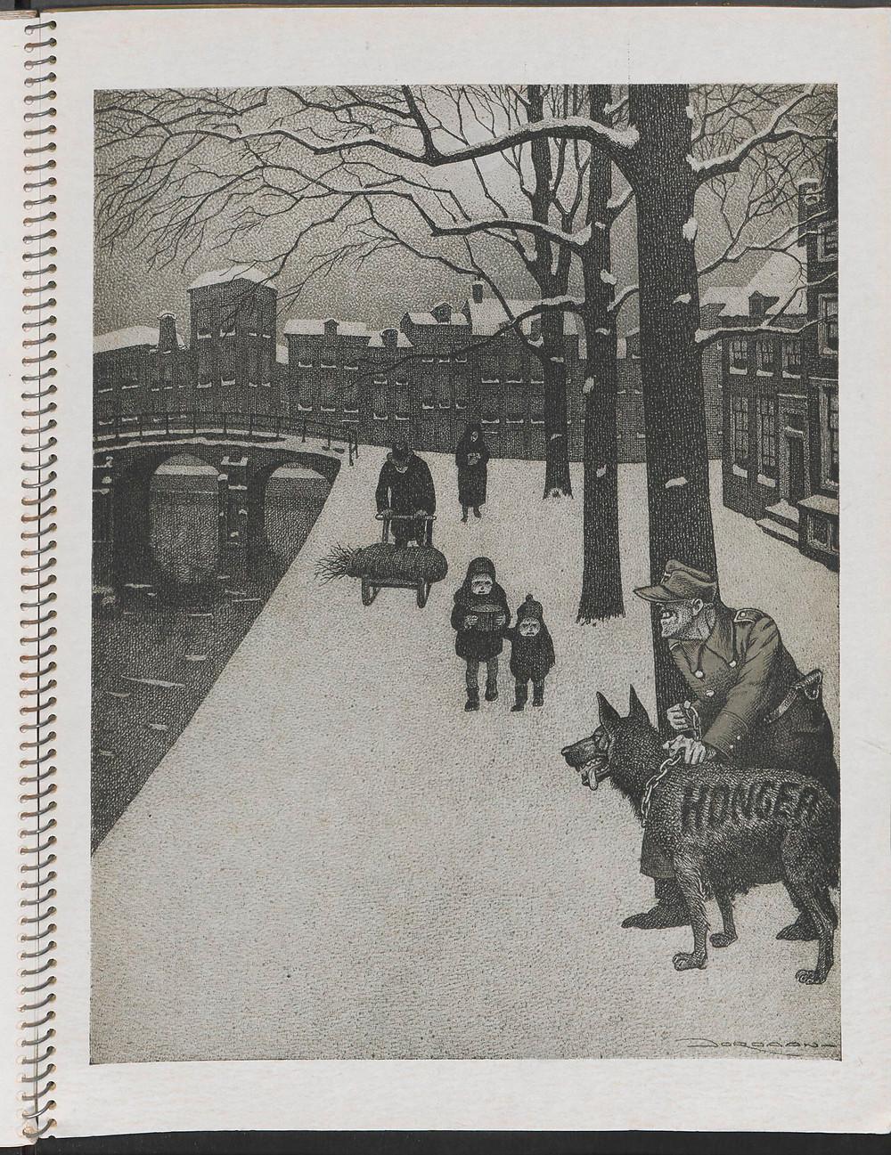 De Groene Amsterdammer, designed by Jan van Keulen