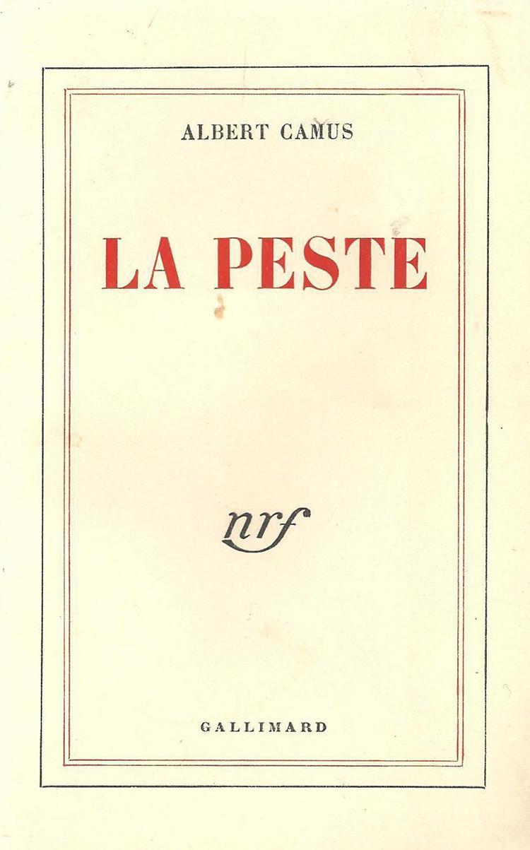 "Albert Camus ""la peste"" first edition"