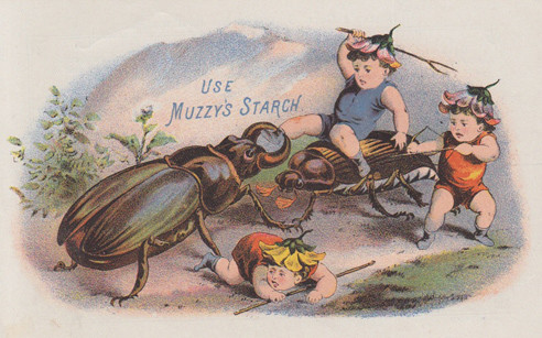 use muzzy's starch - poster