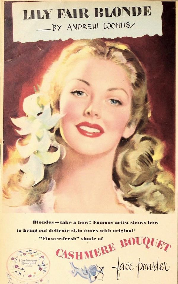 Lily fair blonde