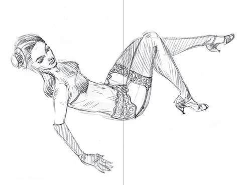 Soho Diva sketch
