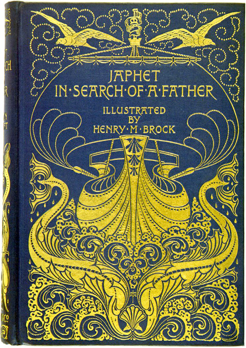 book covers  Designed by A.A. Turbayne, 1895.