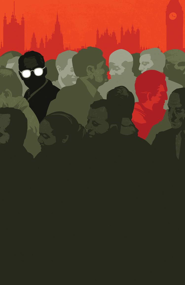 Matt Taylor's cover for 'Tinker, Tailor, Soldier, Spy' by John Le Carre for Penguin Books