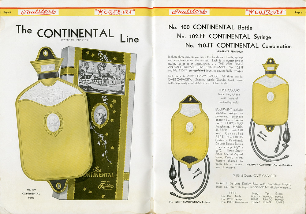 The continental line