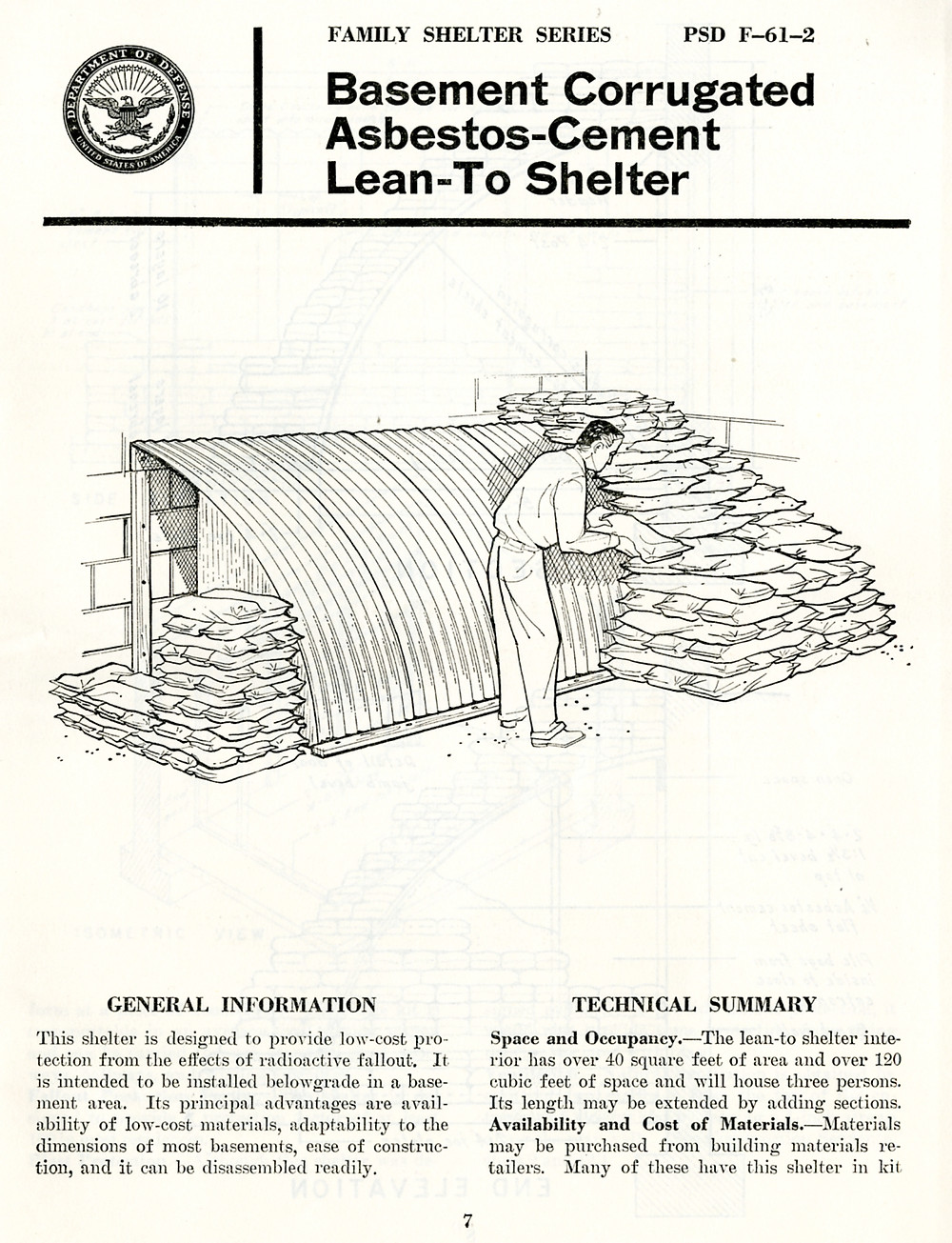 department of defense - family shelter series