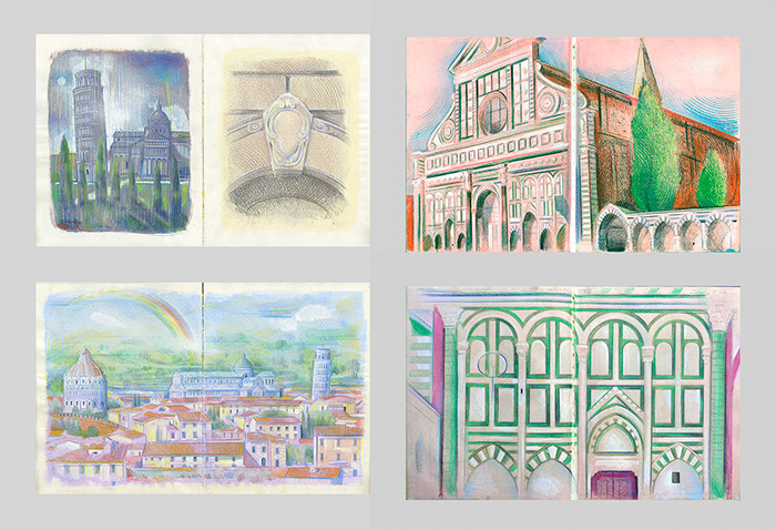 From Florence With Sketchbooks