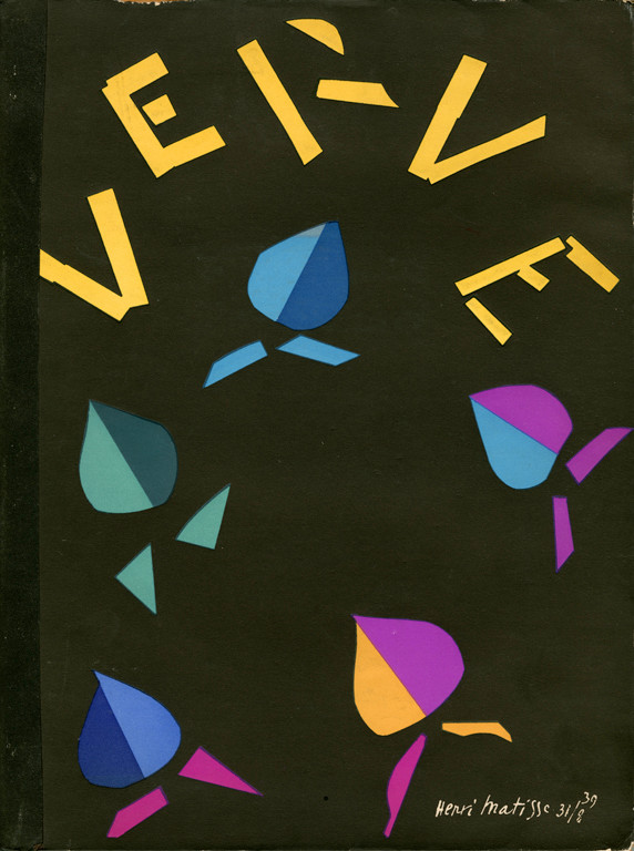 First cover of Verve by Matisse, 1937