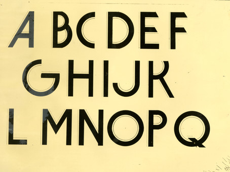 My First and Last Typeface Design