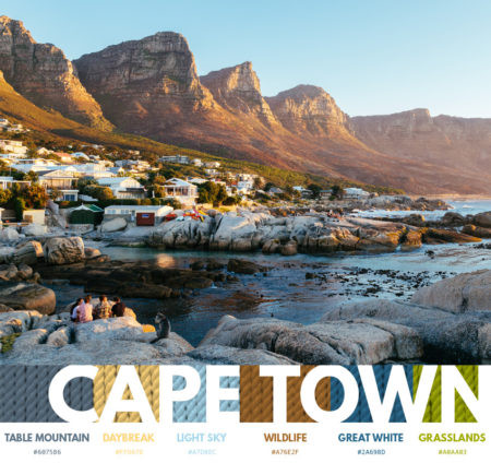 Cape Town color themes