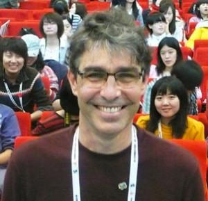 Kiko Farkas at the 2009 Icograda conference in Beijing