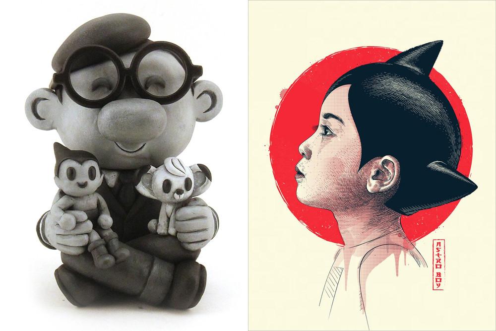 Robot Soda: Tezuka and Guillaume Morellec: Astro Boy