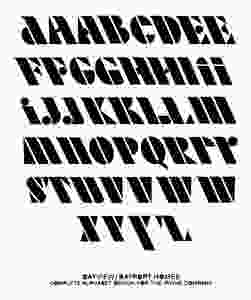 Alphabet Type Created by Don