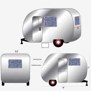"""drawings for The Caravan"""" for Levis by Antlre Inc."""