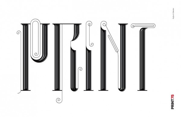 PRINT75 poster by Stefan G. Bucher | See more posters here.