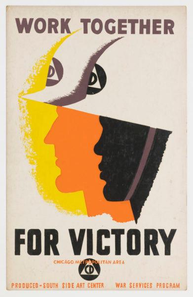 Unknown designer. Together for Victory.