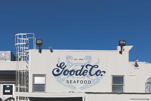 Goode Company Seafood // Principle, Houston; www.designbyprinciple.com: Allyson Lack (creative director/art director), Nadia Usmani, Rachel Rothberg (designers), Mike Guillory (illustrator), Erin O'Connor (writer); Goode Company Restaurants (client)