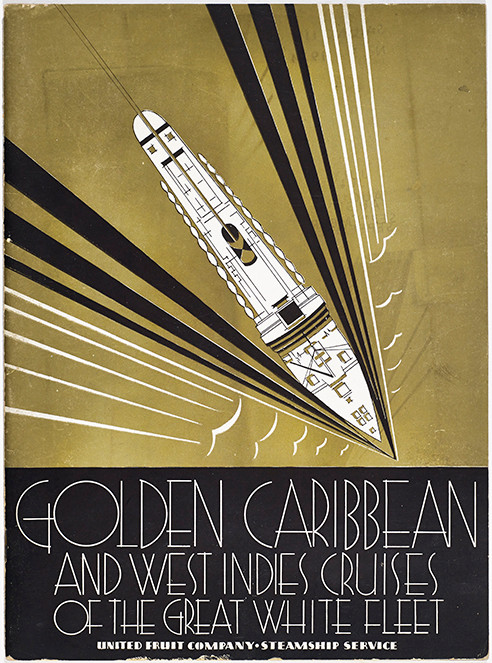 Brochure, Golden Caribbean and West Indies Cruises of the Great White Fleet