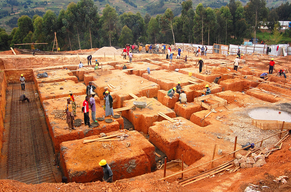 Construction of the Butaro District Hospital