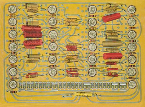 IBM Circuit Tracer with Memory Transistors