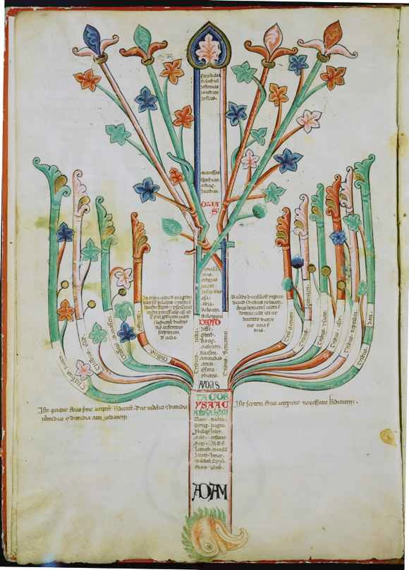 """Tree-eagle"" (1202): a representation of ""the advent of the age of the Holy Spirit,"" via Princeton Architectural Press."